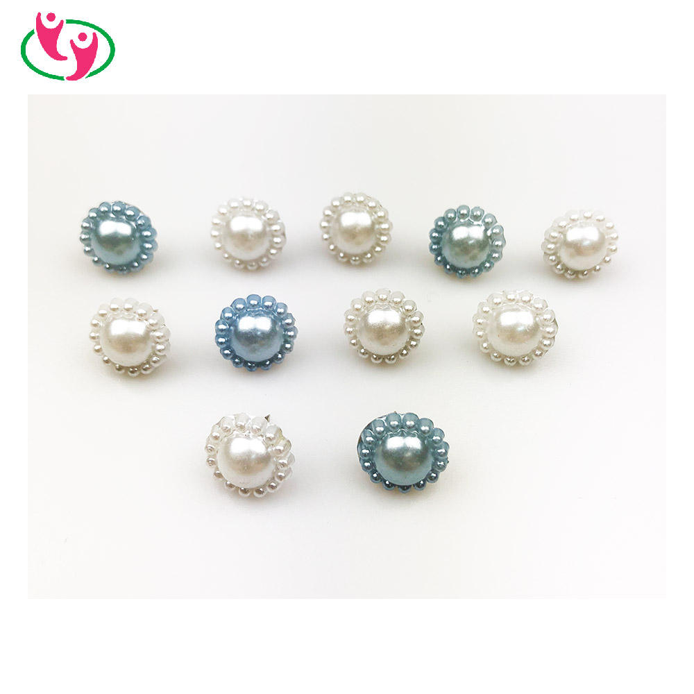 Quality Fancy Pearl Flower Shaped Push Pin