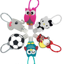 Promotional antibacterial minion hand sanitizer silicone holders