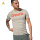 China Manufacturers Custom T Shirt Printing Gym Cotton Short Sleeves Men Dry Fit T Shirt Fitness