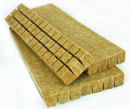 Greenhouse Rock Wool for Hydroponic Growing Systems Agriculture Product