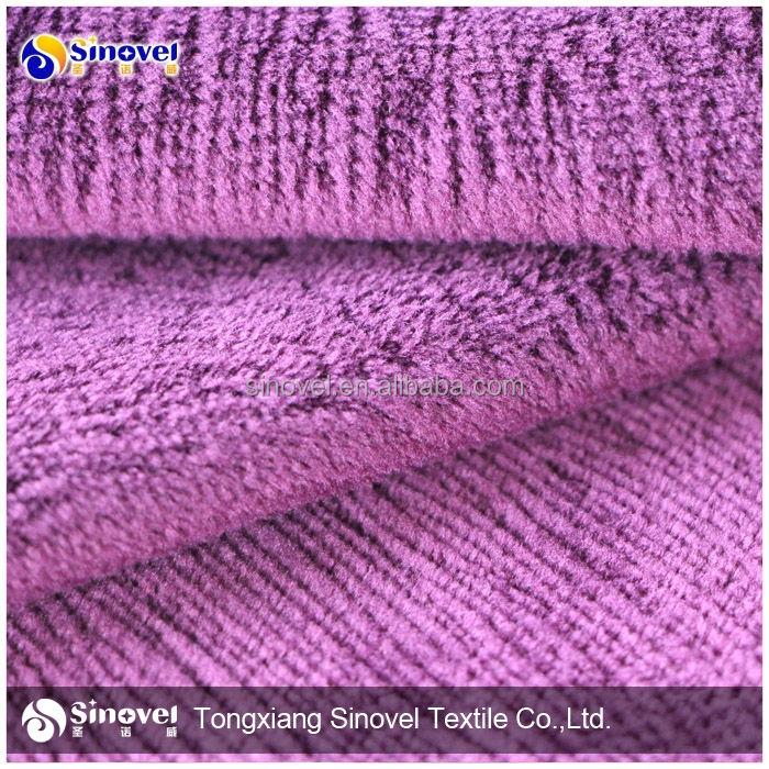 Kumaş burn out 100% polyester süper yumuşak <span class=keywords><strong>velboa</strong></span> gümrüklü baskılı kanepe kumaş/sandalye