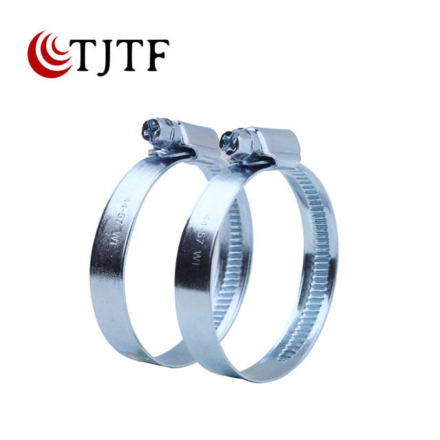 9mm 12mm band extinguisher flat connection quick lever metal locking germany type hose clamp