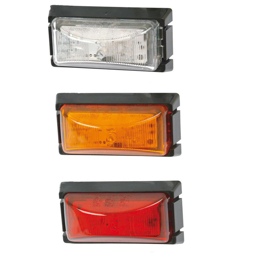 Hot sale 12V 24V 3 inch LED Marker Lights red amber yellow clearance lights for truck lorry