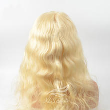 fashion long wigs virgin remy human hair full lace wigs 613 color,long body wave lace wig cosplay,party wig blonde wig