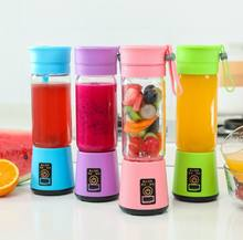 Portable USB Personal Blender Juicer Cup for Smoothies Shakes plastic Mini Travel Blender
