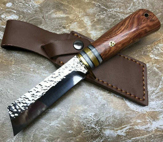 60HRC 돌 + Wood Handle 캠핑 Hunting 칼 9CR18MOV Stainless Steel 칼 Fixed Blade 칼 손 툴 9375
