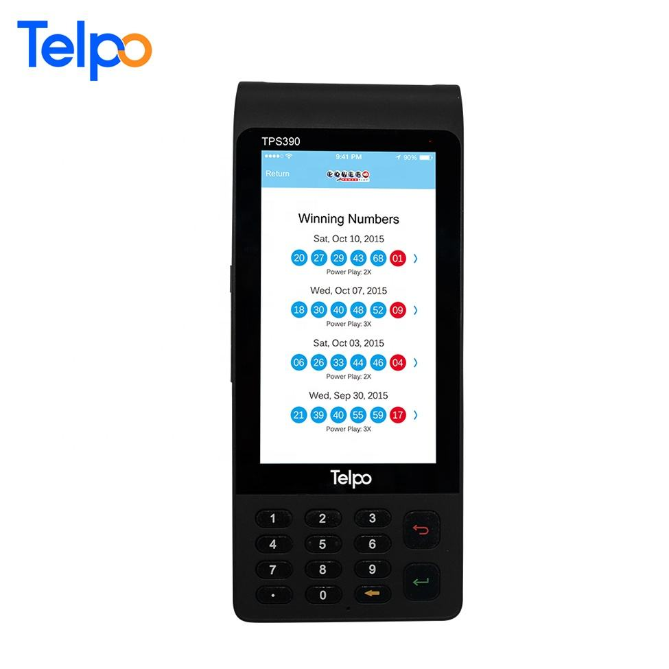 Low Cost TPS390 Tax Change of Control NFC POS Terminal For Invoice Printing