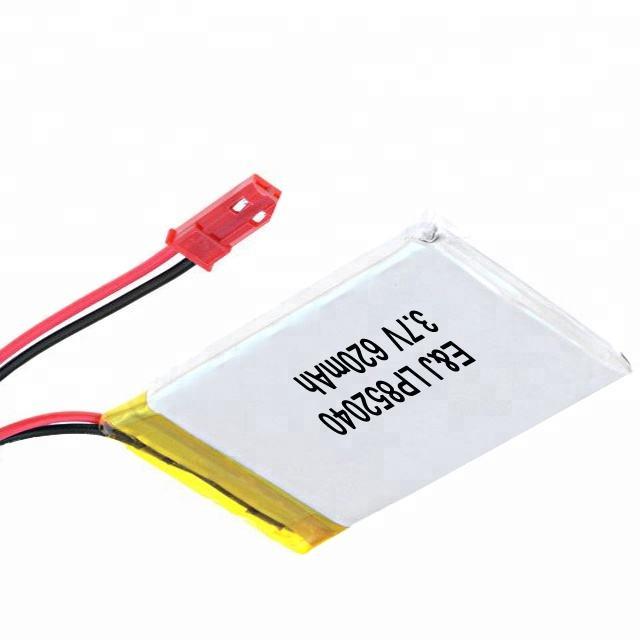 Аккумулятор li-po 3,7 В 620 мАч литий-полимерный аккумулятор 852040 3,7 В литий-полимерный аккумулятор