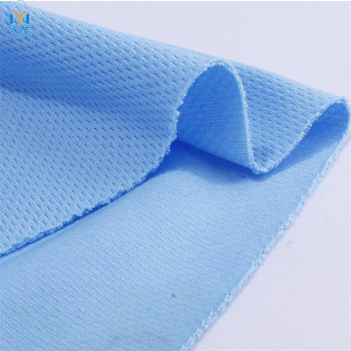 Huzhou 100% polyester wicking <span class=keywords><strong>tissu</strong></span> en nid d'abeille