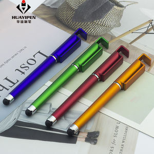 New Design 3 in 1 Plastic Touch Screen Stylus 펜, Promotion 볼펜의 와 폰 Holder