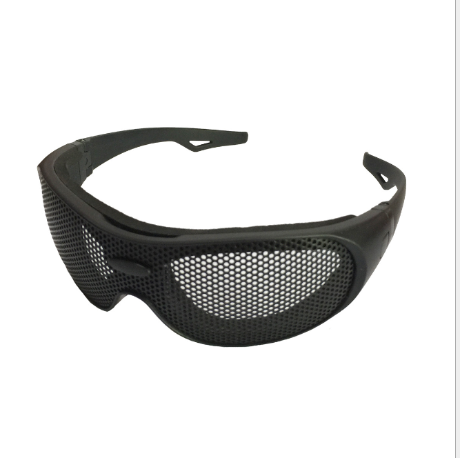 SG01 아이언 맨 (iron 강 mesh Game 눈 Protection Safety Glasses Airsoft Tactical 고글, metal Mesh Sports 군 CS Game 눈 Protect