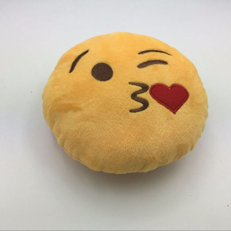 Chinese Suppliers Cheap Cute Customized Whats app Plush Emoji Pillow