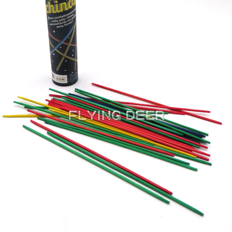 Promotionele Puzzel Game Pick Up Sticks Games Plastic <span class=keywords><strong>Mikado</strong></span>