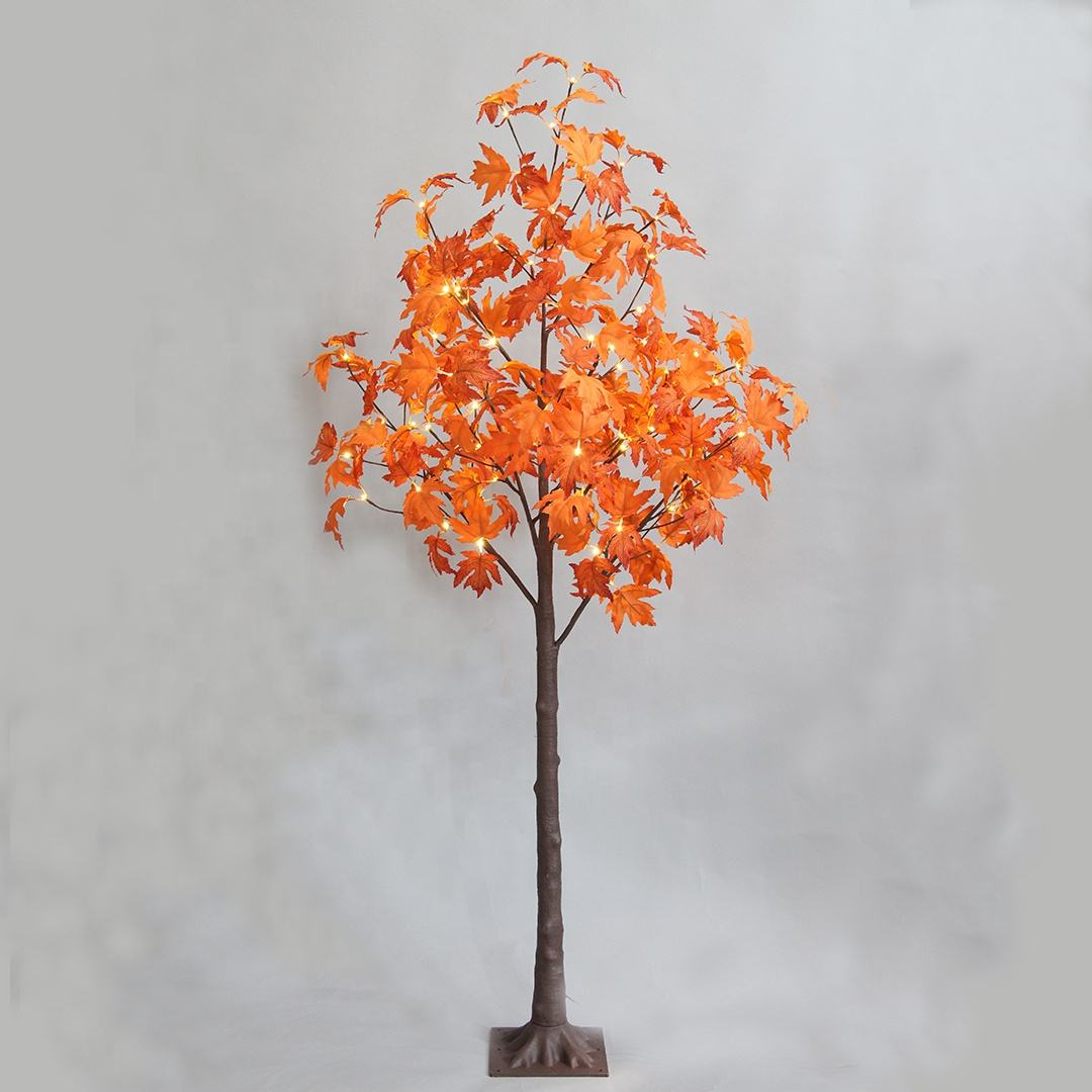 Winter 125cm Artificial Maple Tree Lights