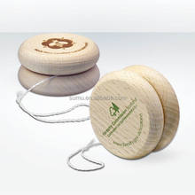 Hot Sale Low MOQ Custom LOGO Engraved Professional Wooden Yo Yo