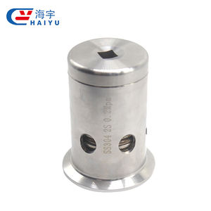 Wenzhou manufacturer stainless steel sanitary relief safety valve