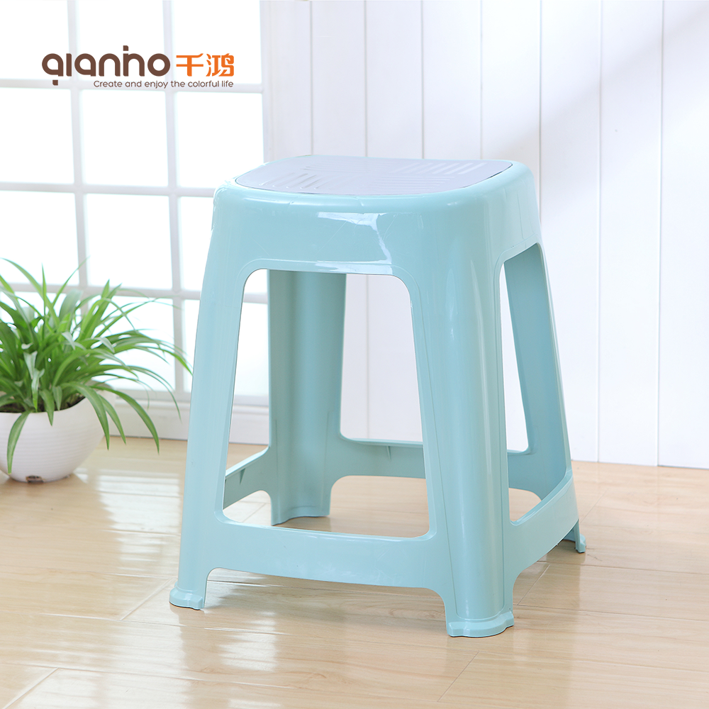 Japanese bath office shower square specification world convenience ergonomic tall plastic stool