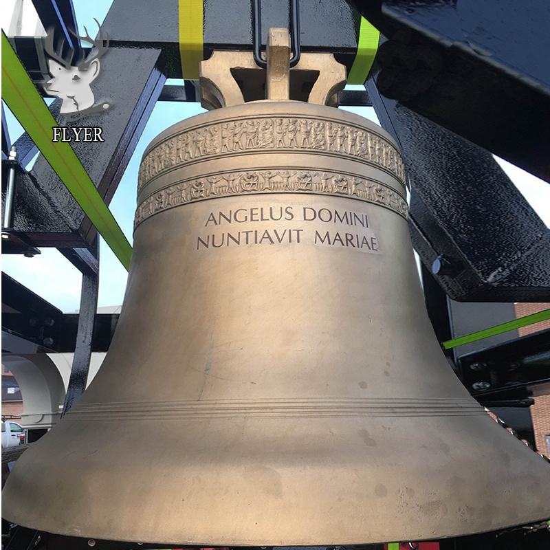 European style large bronze church bell for sale