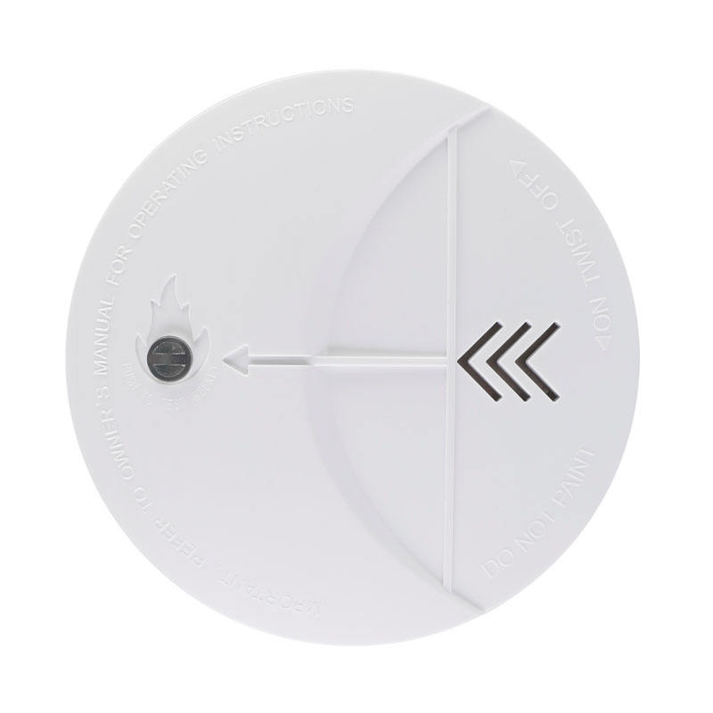 10-year factory latest tridimensional design 10 years battery detector smoke alarm