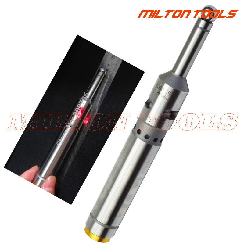 Localizador De Precision Electronic Edge 160mm Led Beep Torno Cnc Usinagem de moagem