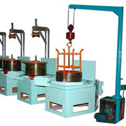 hebei new design pulley type dry line wire drawing machine