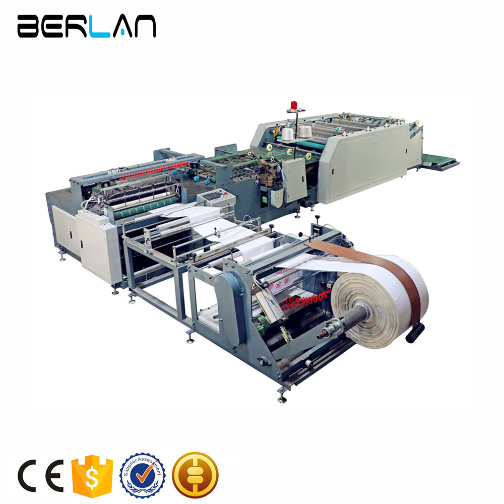 Computer Control Automatic PP Woven Bag Cutting Sewing Printing Machine