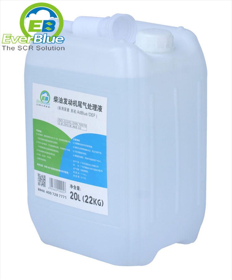 AdBlue Liquid Urea for SCR System DEF Diesel Exhaust Fluid for Diesel Vehicles Cars