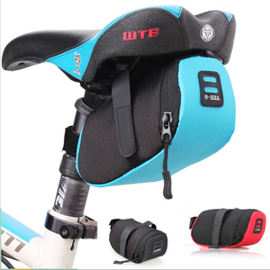 22050 Cycling MTB Road Folding Bicycle Seat Post Pouch Bike Saddle Bag