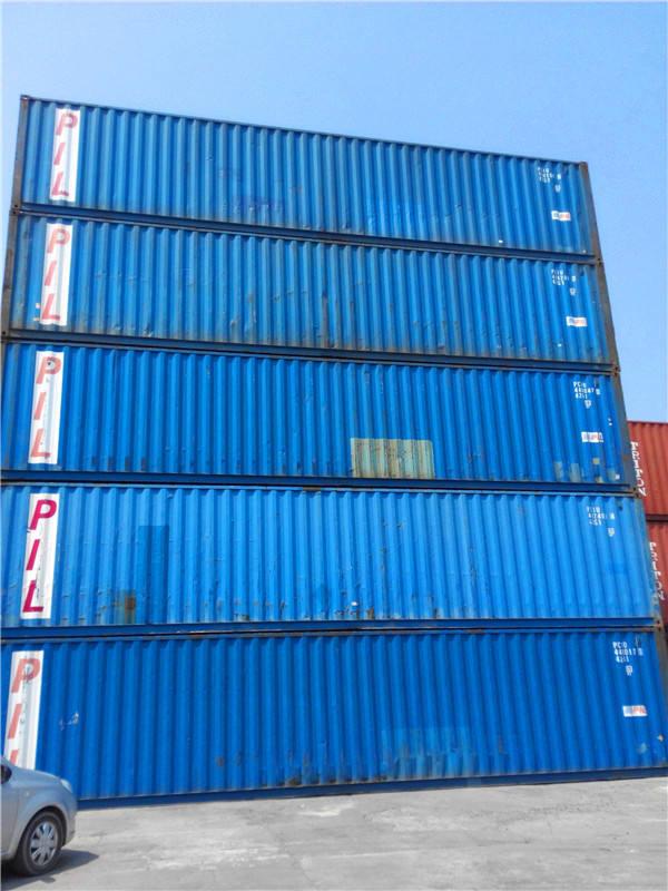 contenedor de envío de contenedores usados del buque
