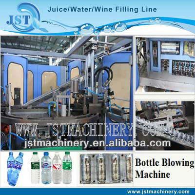 бутылку формы полу- автоматическая strench оборудование