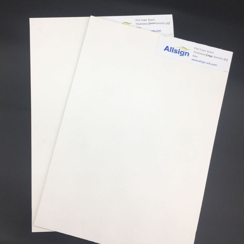 3-5mm thickness PVC foam board for sale