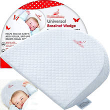 Factory Supply Baby Pillow Wedge For Bed Sleep White Wedge Crib Pillow