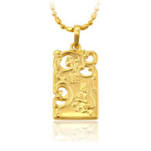 xuping jewelry dubai gold drop pendant, the monkey pendant yellow gold wholesale pendant jewelry