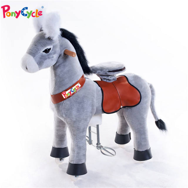 Pony Cycle ride on toy horse No Need Battery No Electric Just Walking pony -Size MEDIUM for Children 4 to 9 Years or Up