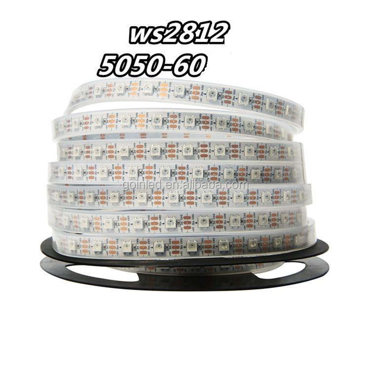 Rubber Afdichting Outdoor Decoratie Led Strips Rgb Led Strip 12V SMD5050 60LED Per Meter Waterdichte IP68 Beschikbaar