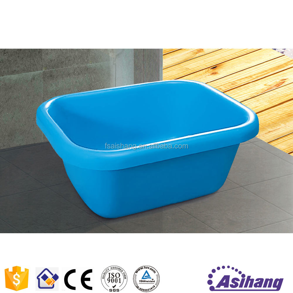 new style blue colored inflatable plastic small bathtub