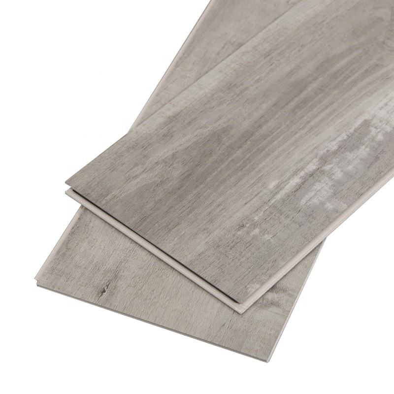 LIGHT GREY TOP QUALITY V-GROOVE TYPE LAMINATE FLOATING FLOORING 8MM 12MM