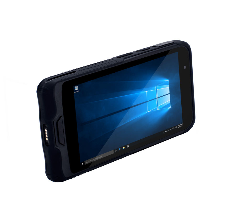 Al aire libre NFC Rugged Mini PDA IP67 impermeable Window10 OS 6 pulgadas teléfono inteligente