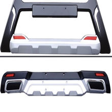 Front And Rear  Bumper Guard Car Accessories   Car Bumper Guard For CHERY TIGGO 3 (2014) HX-RH3-001/002