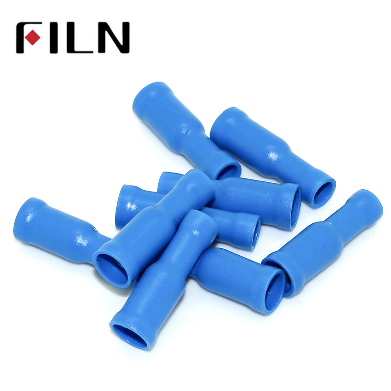 FRD2-195 Bullet Shaped Female Insulating Joint Wire Connector Electrical Crimp Terminal AWG16-14 100PCS/LOT