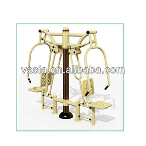 High quality outdoor park fitness equipment double air walker fitness