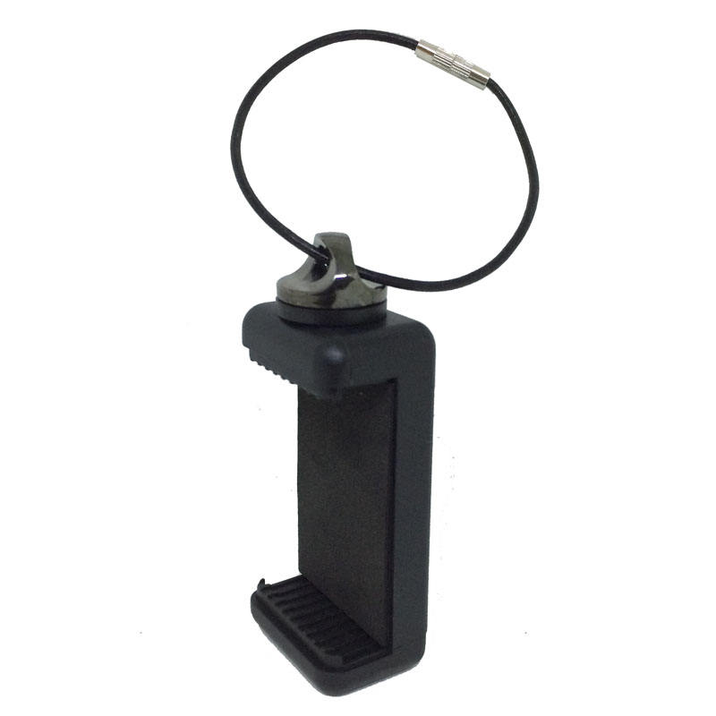 2018 trending products unique design portable 4.5-6inch cell phone Smart Hanger Smarthaenger Clamp Holder for DSLR camera hook