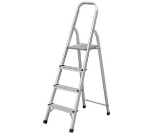 Household Narrow Board Aluminium Fold step ladder