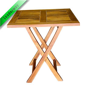 Small and cheap pine outdoor BBQ folding wooden picnic table