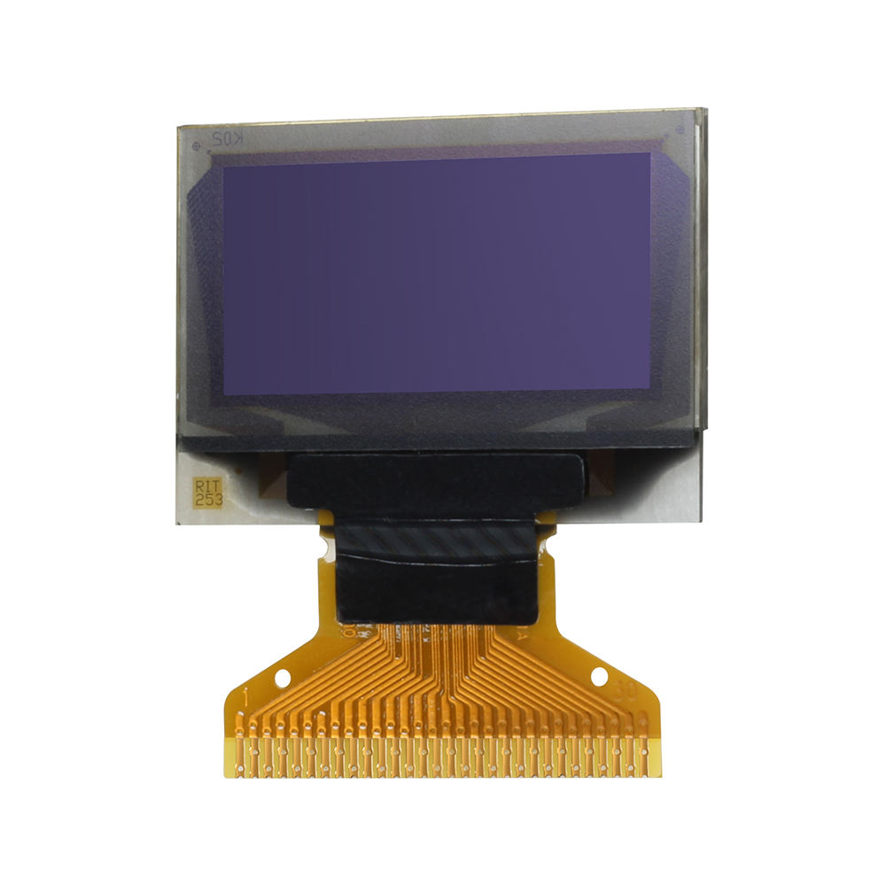 "0.96 ""Kecil OLED LCD Display 128X64 Piksel Biru SSD1315 IC"