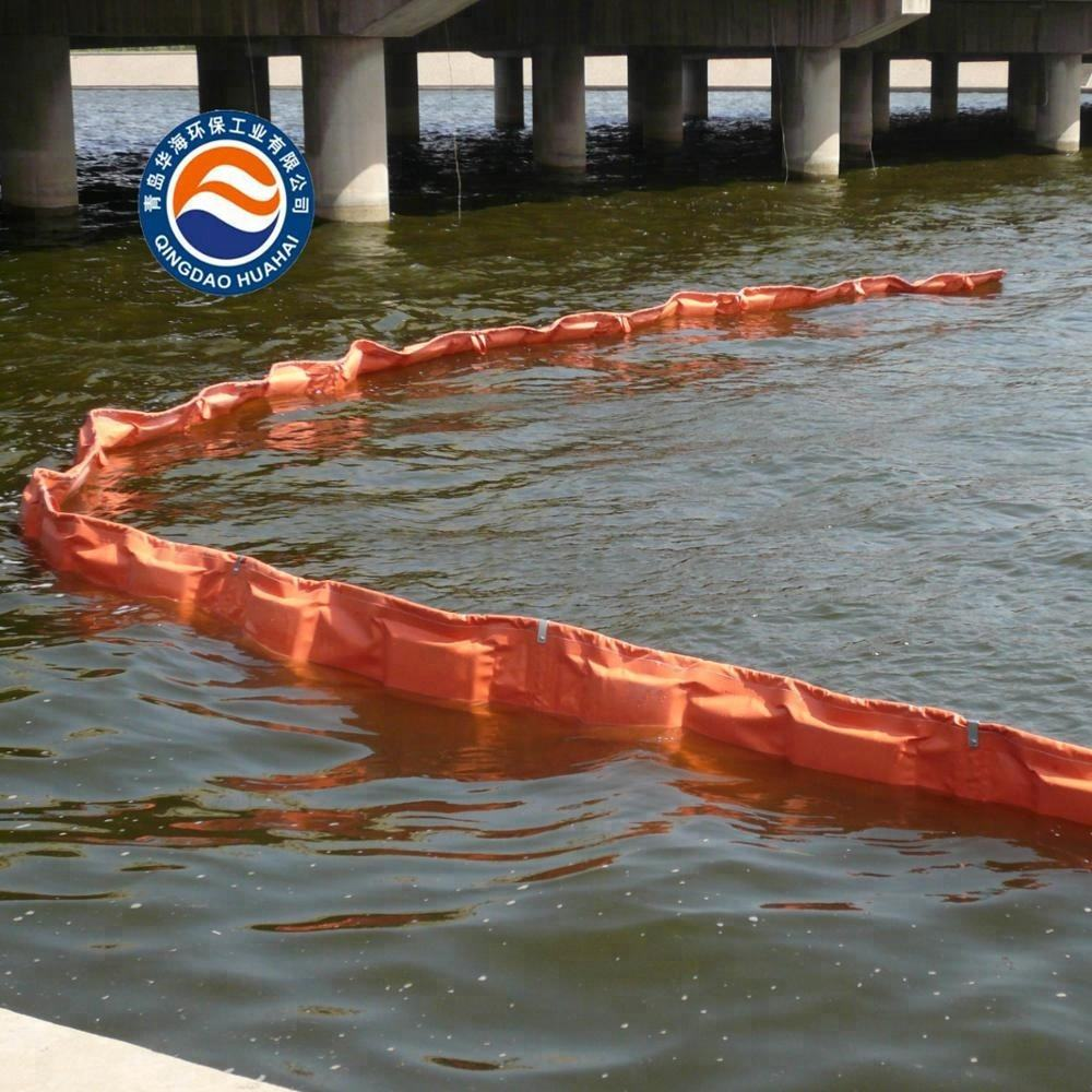 PVC Fence Boom for Oil Spill Control