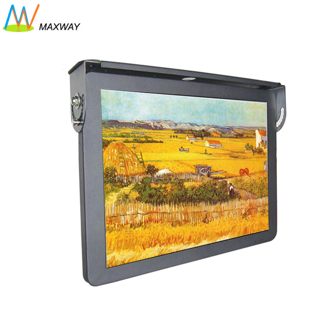 av bus tft lcd car tv monitor viewer system with 3g/wifi, 19inch android electronic signage 4g internet