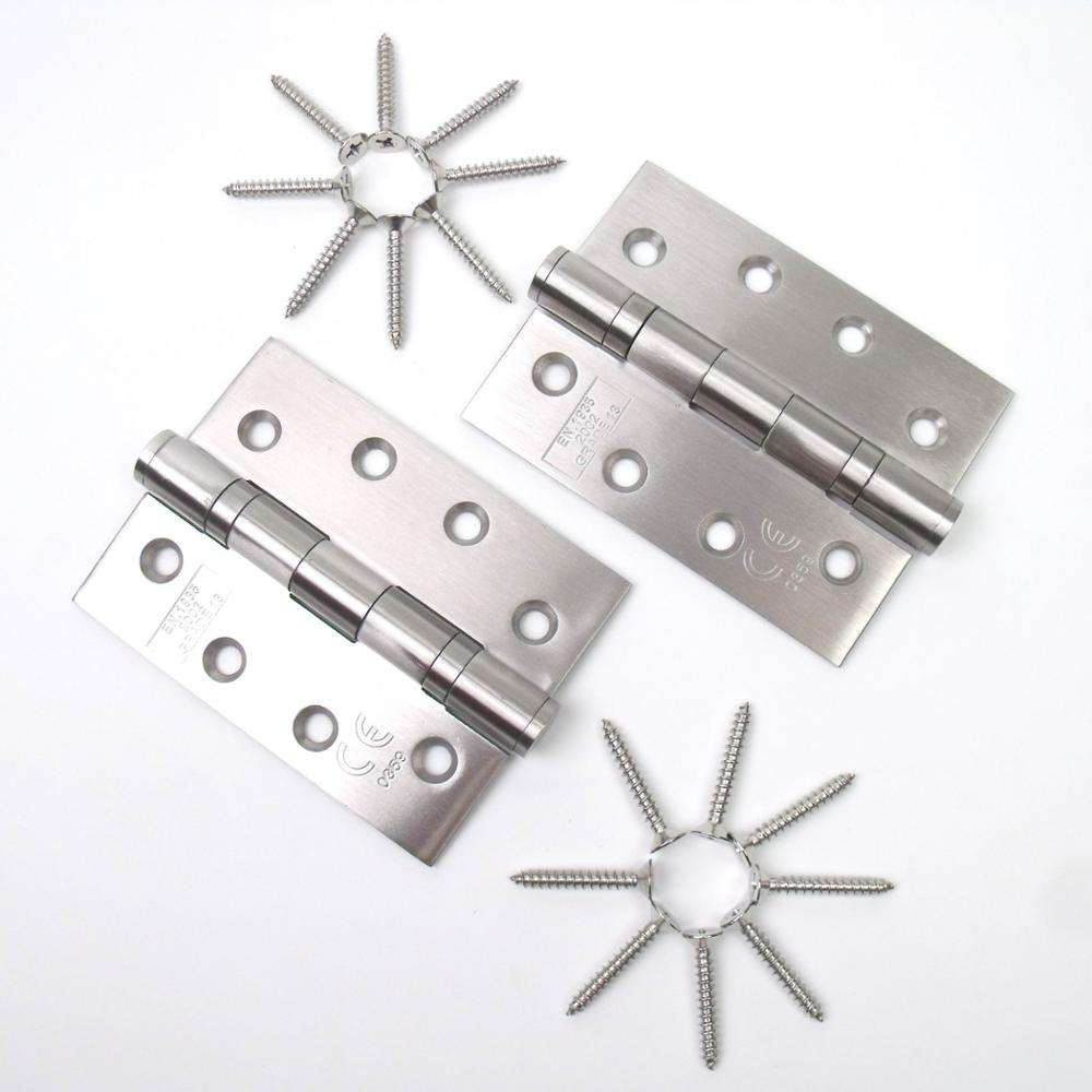 Stainless Steel Butt Hinges With 2 BB Fire Rated