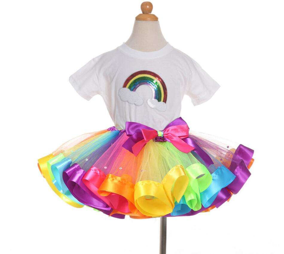 Baby Girls Sparkly Appearance petti tutu skirt sets Wholesale Price