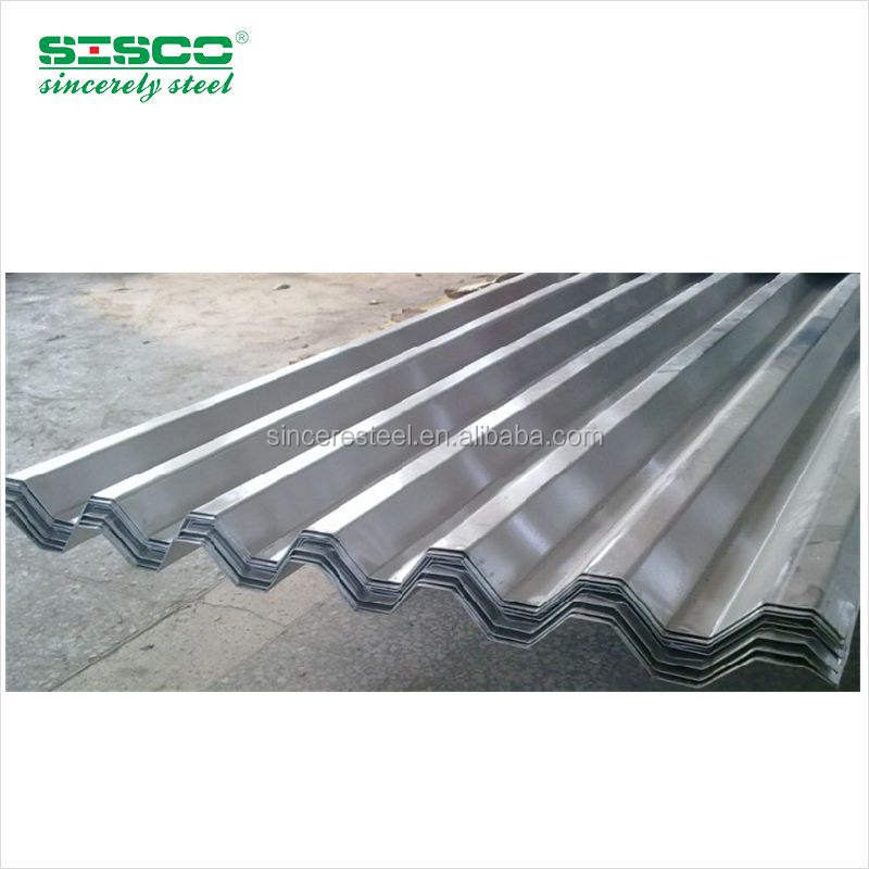 High quality Factory price and quality zinc galvanized corrugated sheet Steeling roofing sheets Corrugated iron